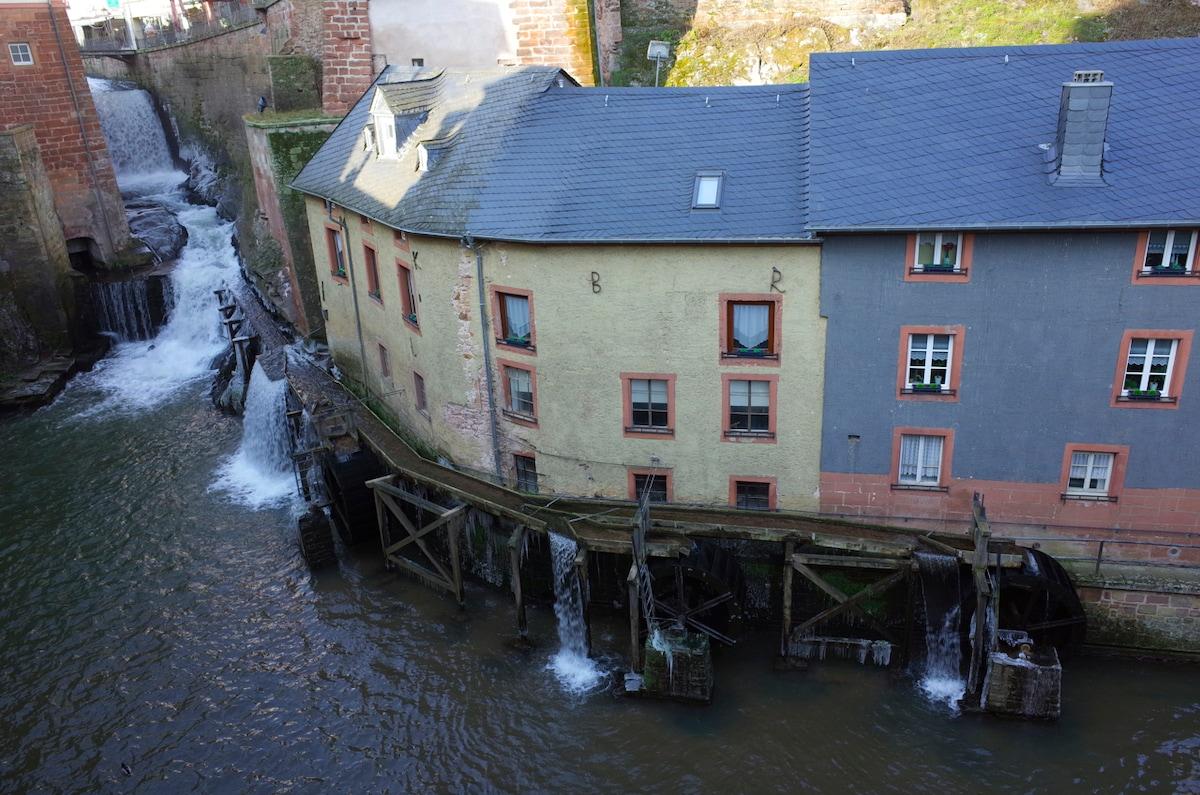 Romantik-Appartement am Wasserfall
