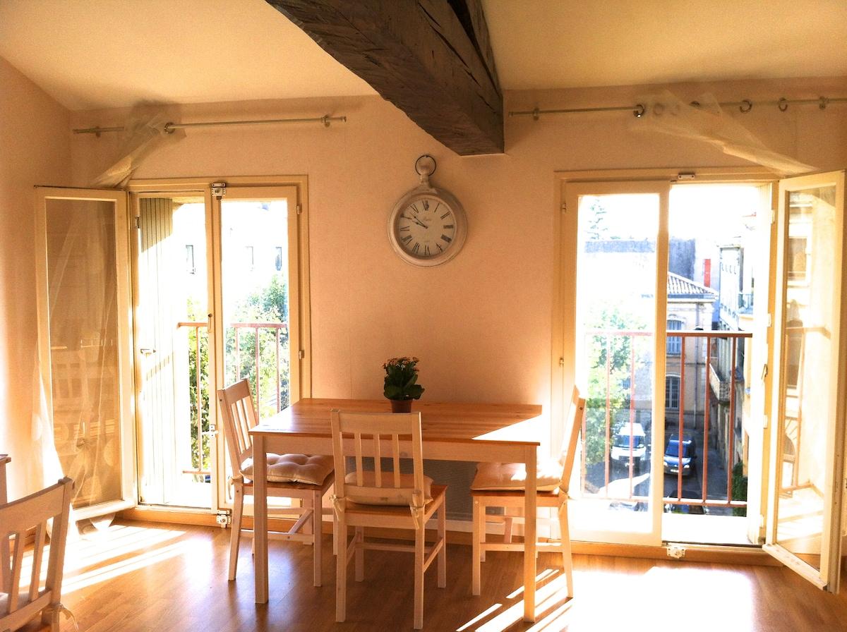 Romantic Apartment in Carcassonne