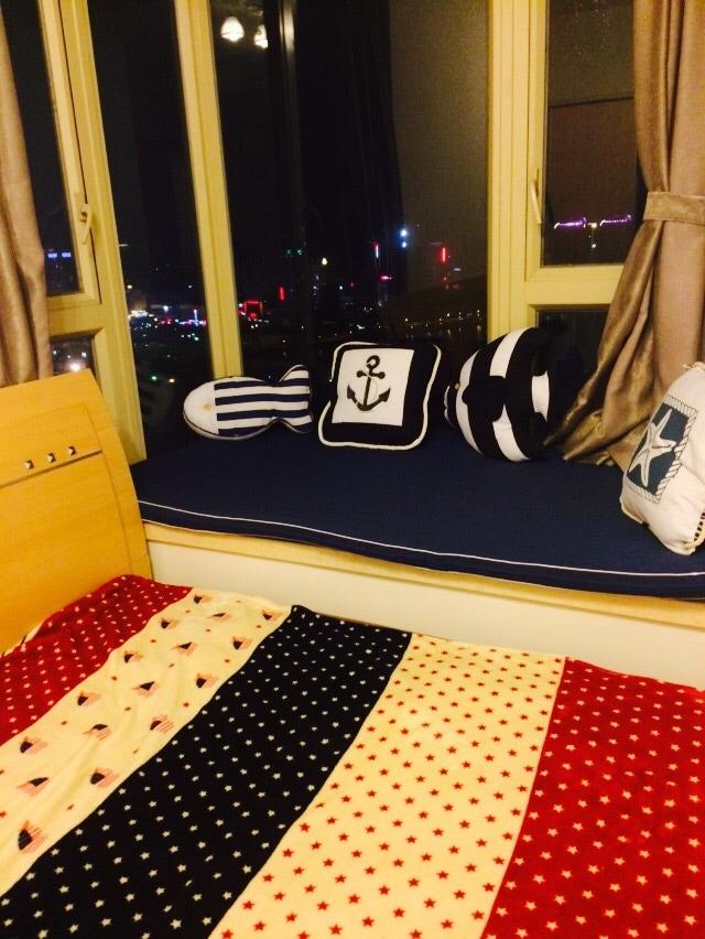 豪华海景卧室