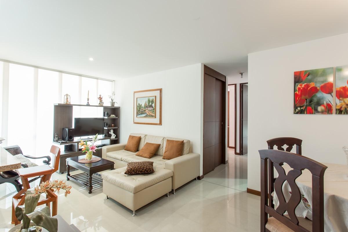 Beautiful apartment in El Poblado
