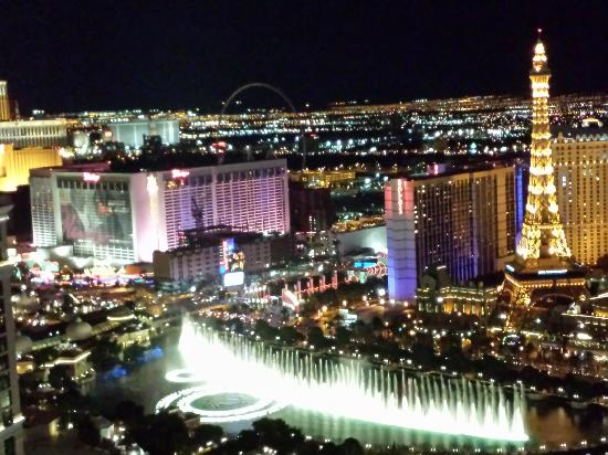 Vdara Suite Fountain View