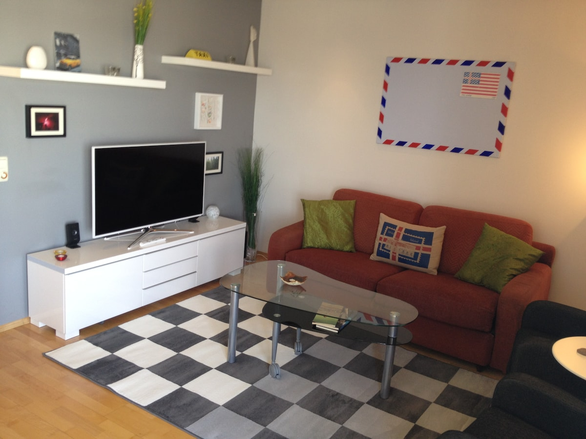 Peaceful Downtown Apartment - WiFi