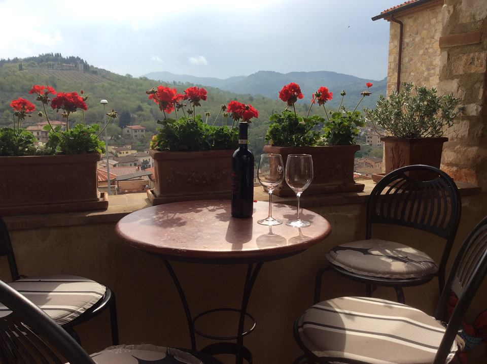 Our beautiful apartment in Chianti