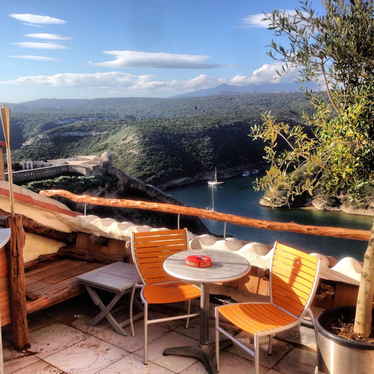 BONIFACIO-Corsica apt/SPERONE golf