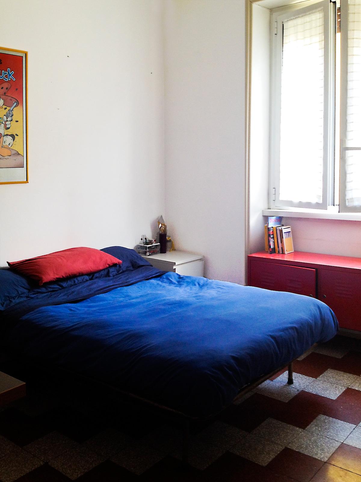 stanza in appartamento accogliente