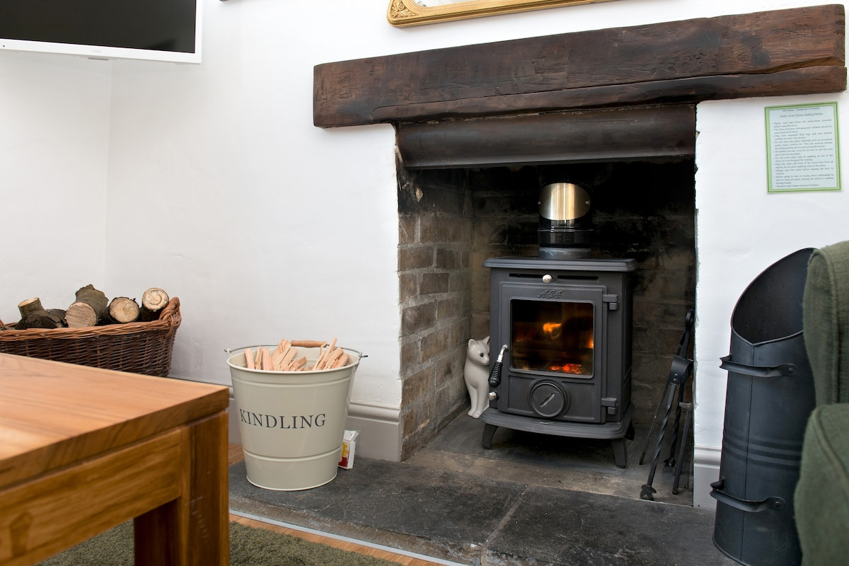 Pre-order your fire supplies and we'll have the stove prepared with logs etc for your arrival!