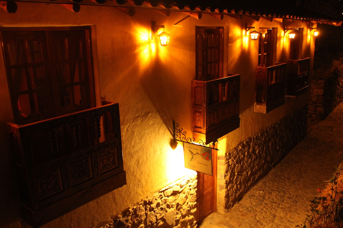 Unique guest house in Ollantaytambo