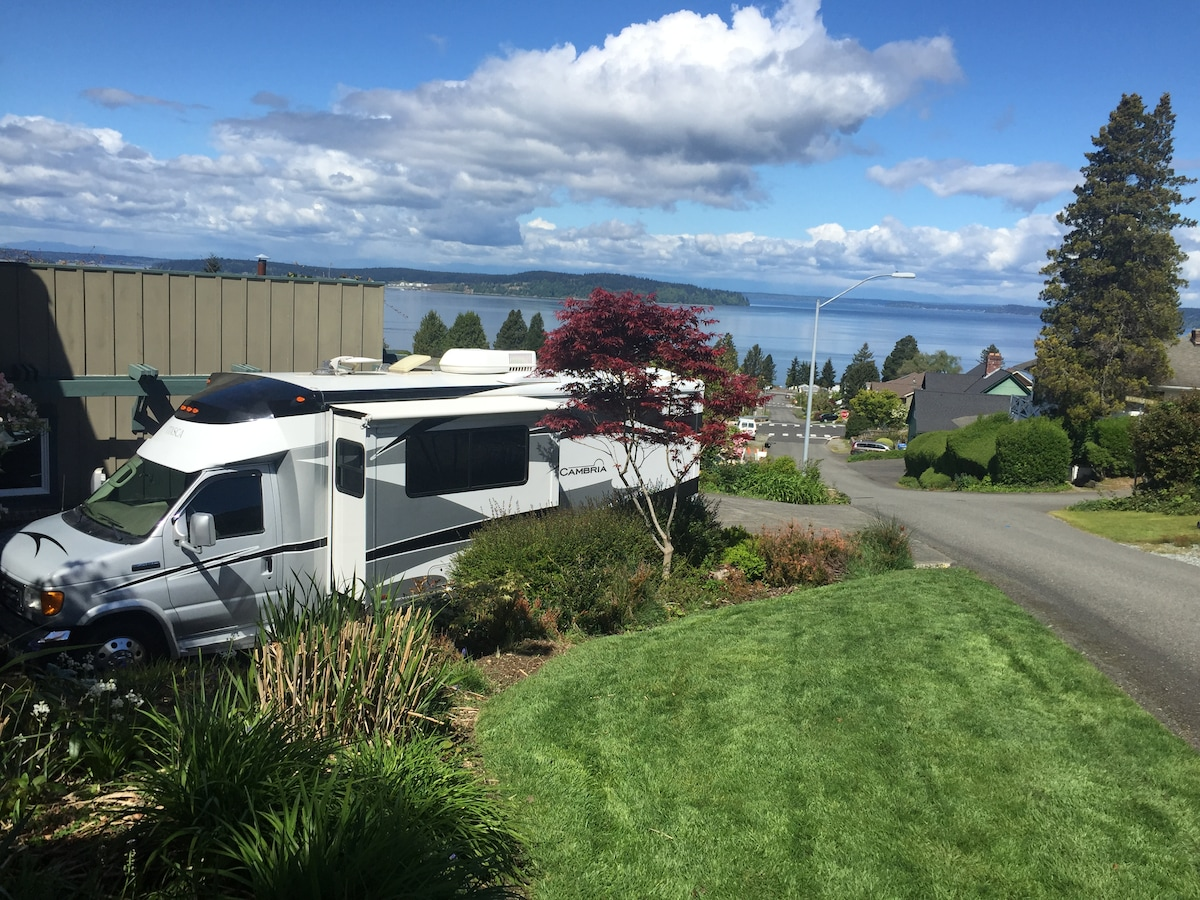RV for 2015 US Open - Chambers Bay