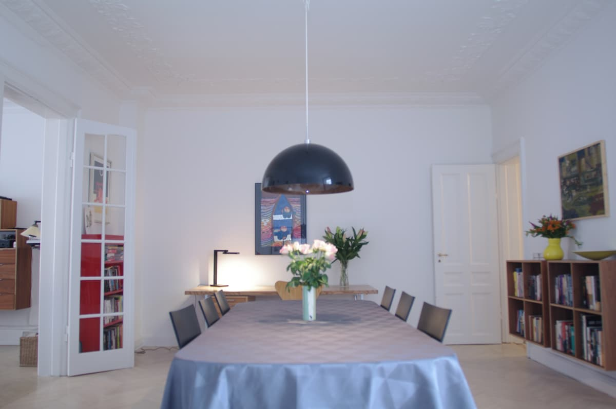Luxurious apartment in central CPH