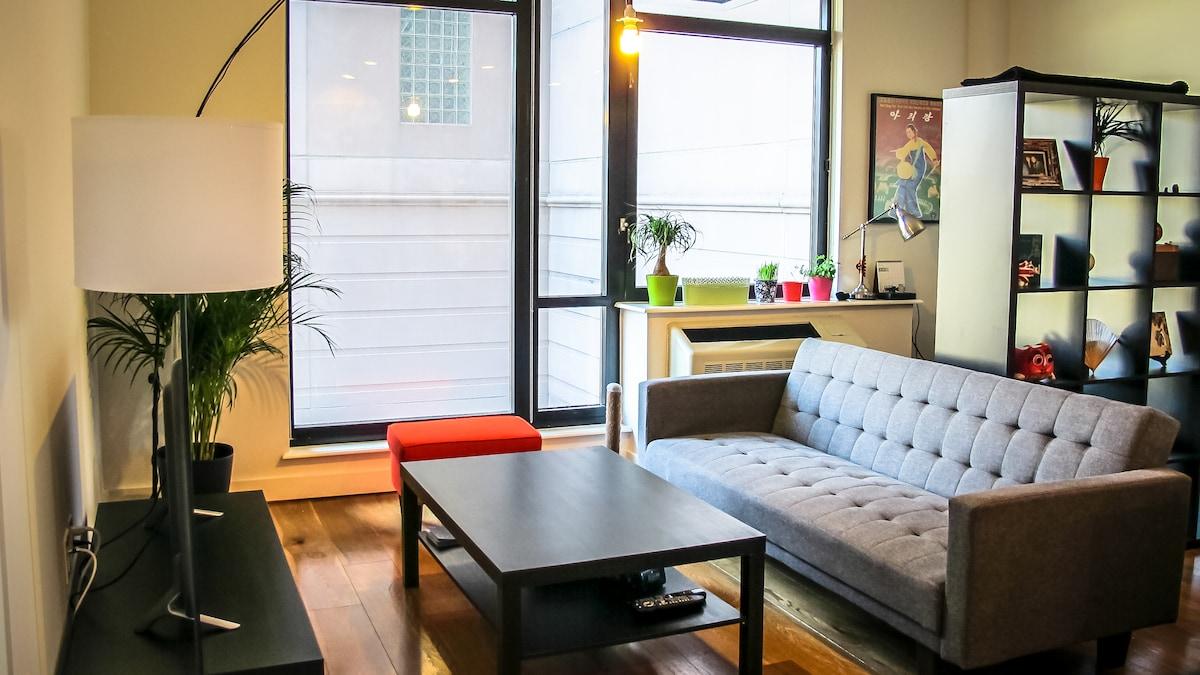 Bright & Modern City Apartment