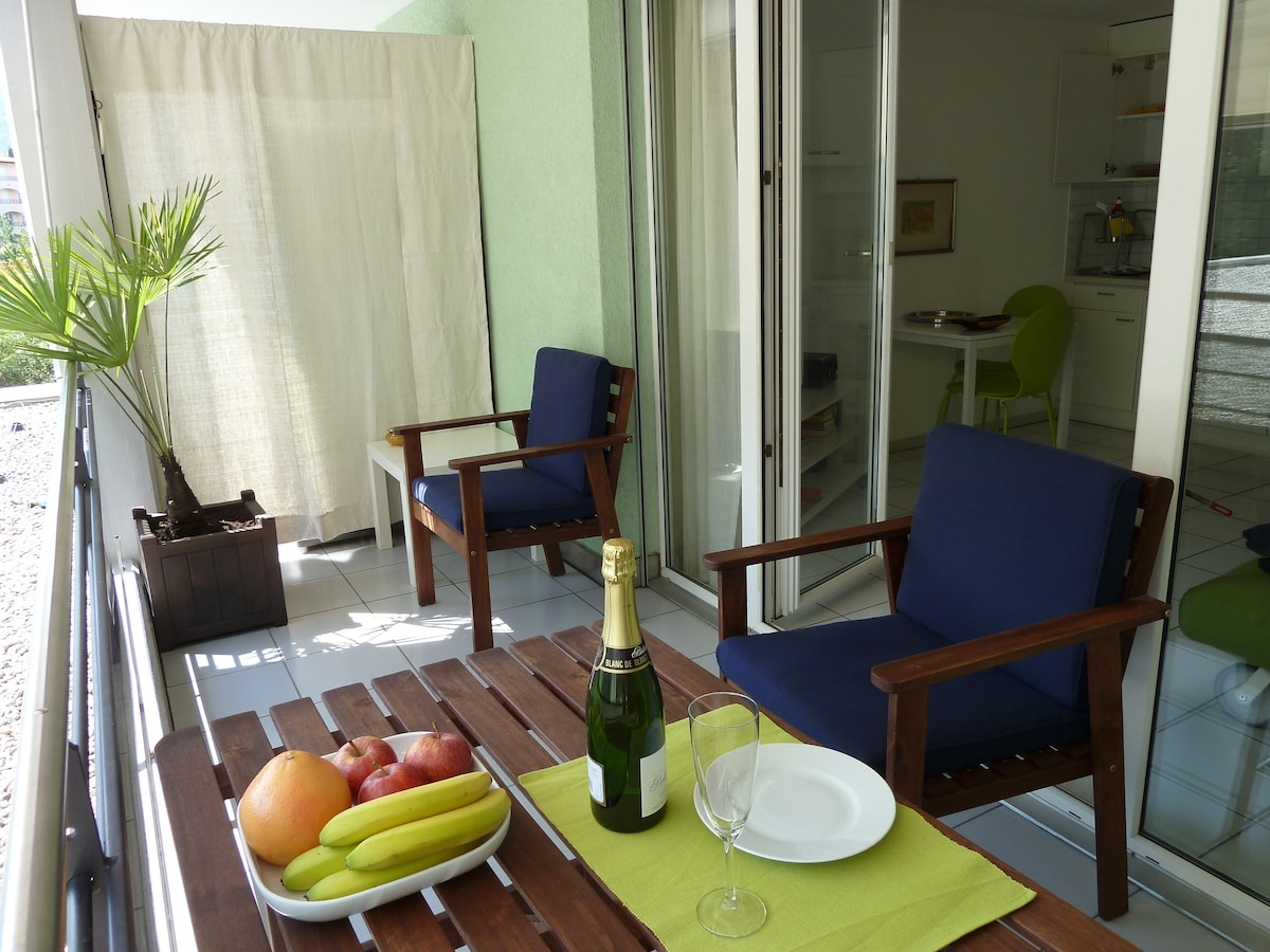 Sunny holiday apartment at Ascona