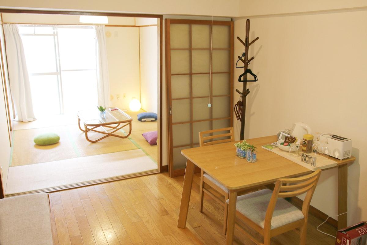 Fully Kitchen in Central Fukuoka
