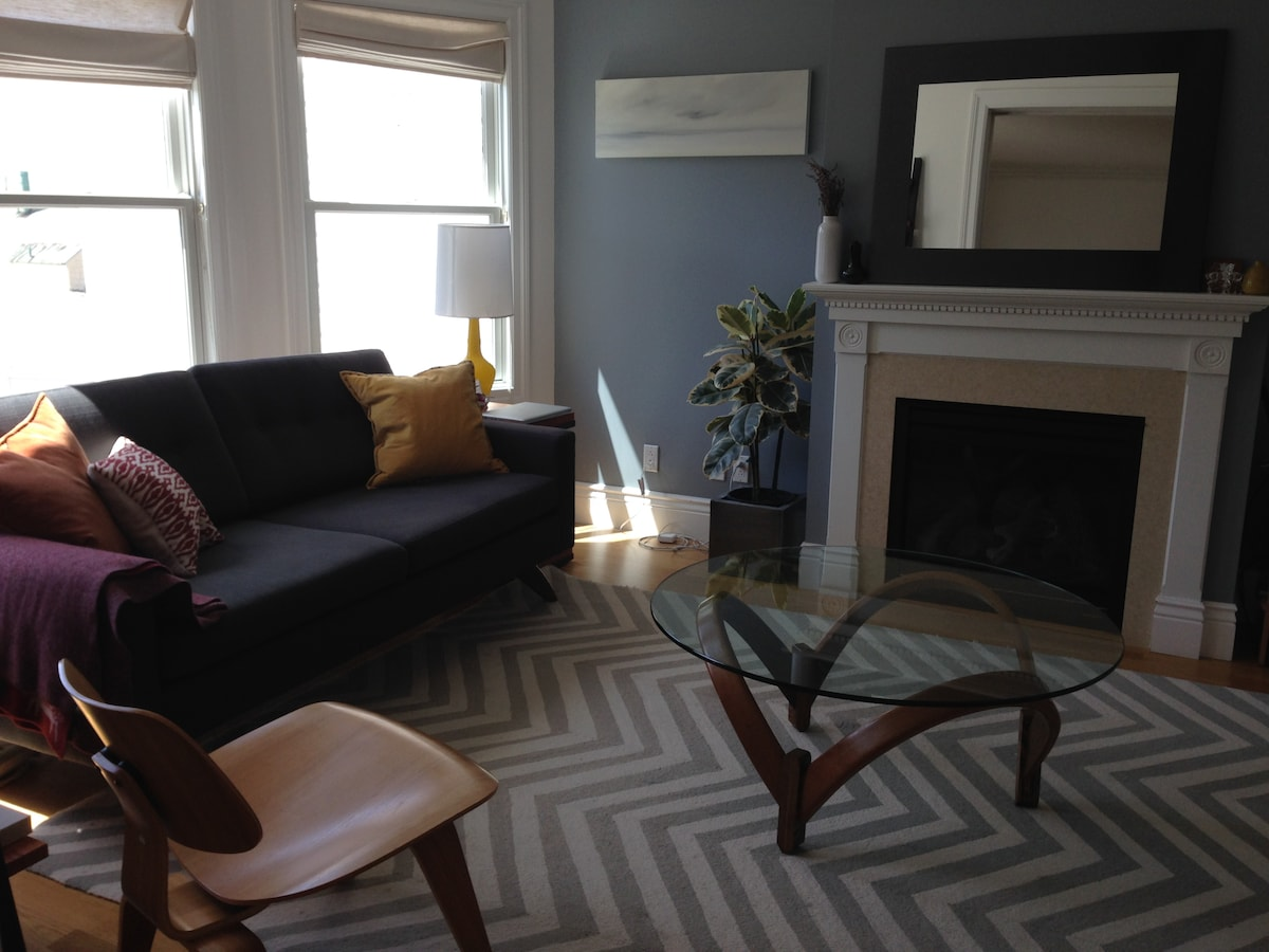 Modern and Homey 4BR +Yard +Parking