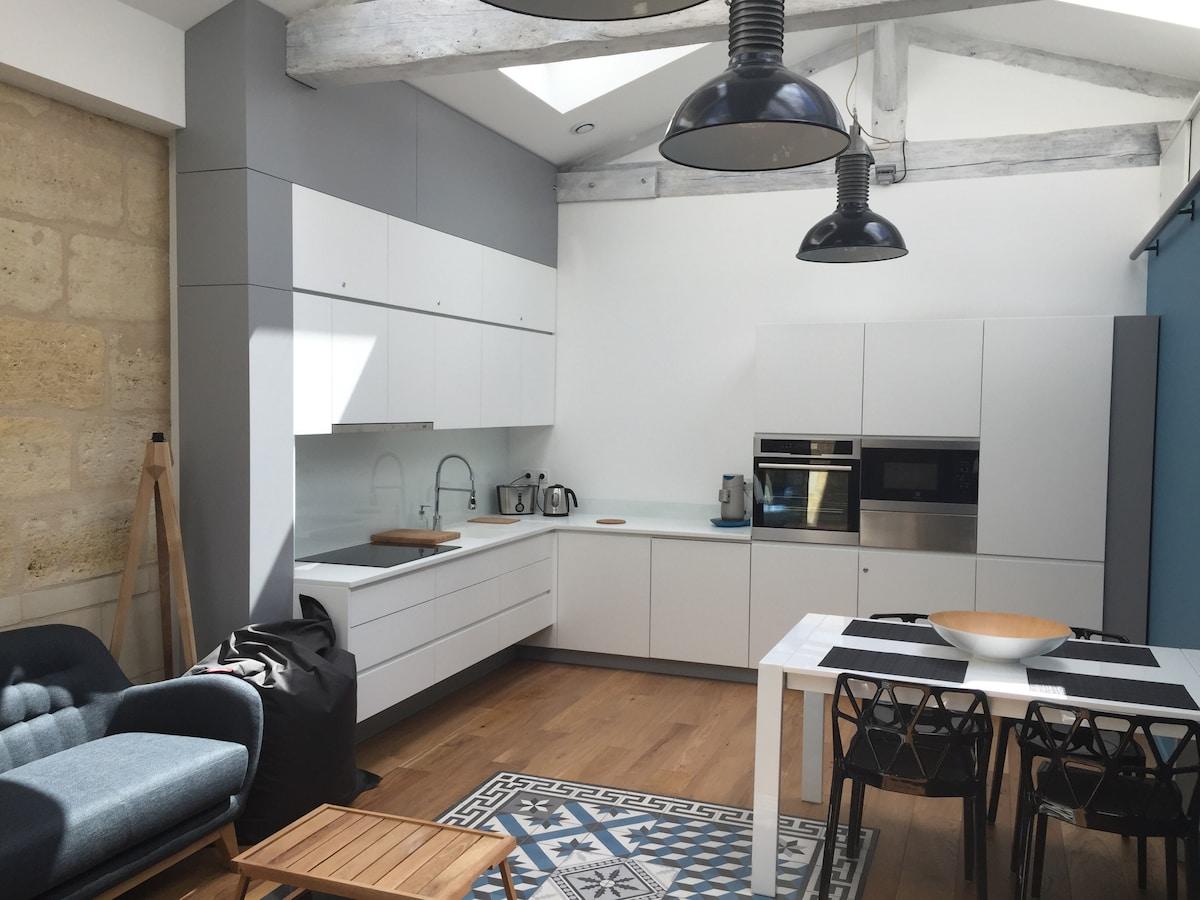 Apartment Loft Bordeaux Chartrons!!