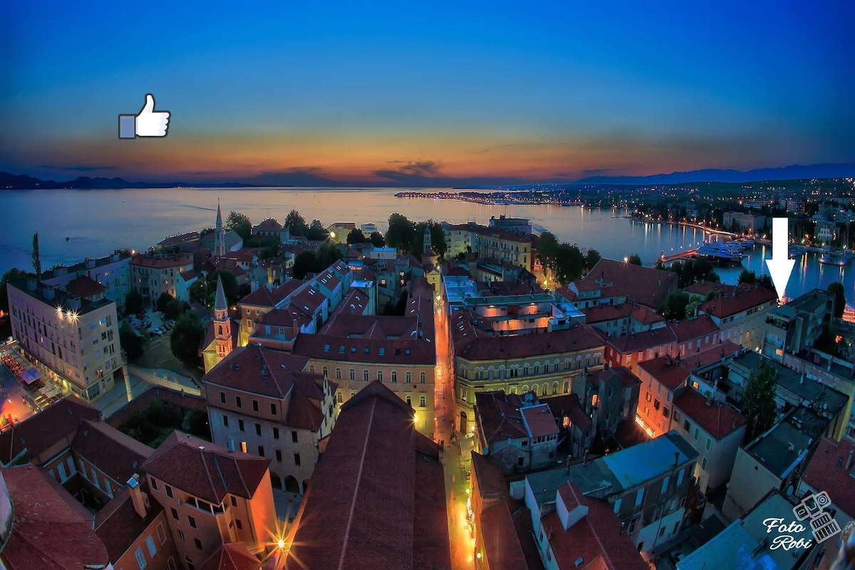 B&B IN THE OLD TOWN OF ZADAR.....