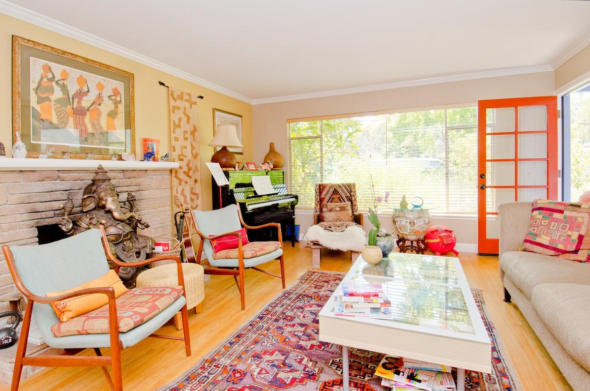 International Spirit Permeates our Living Spaces....