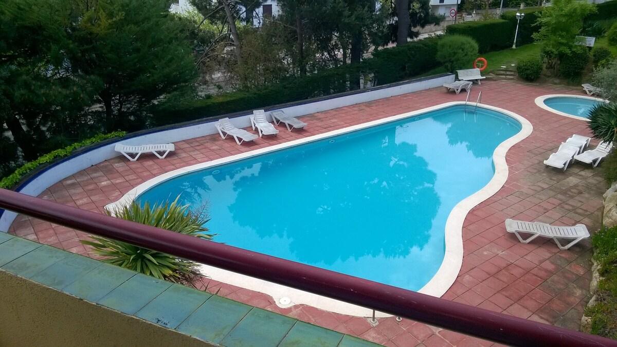 Ideal apartamento con piscina