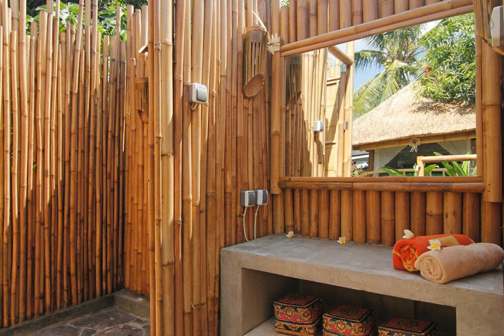 Amazing bamboo houses at Canggu (B)
