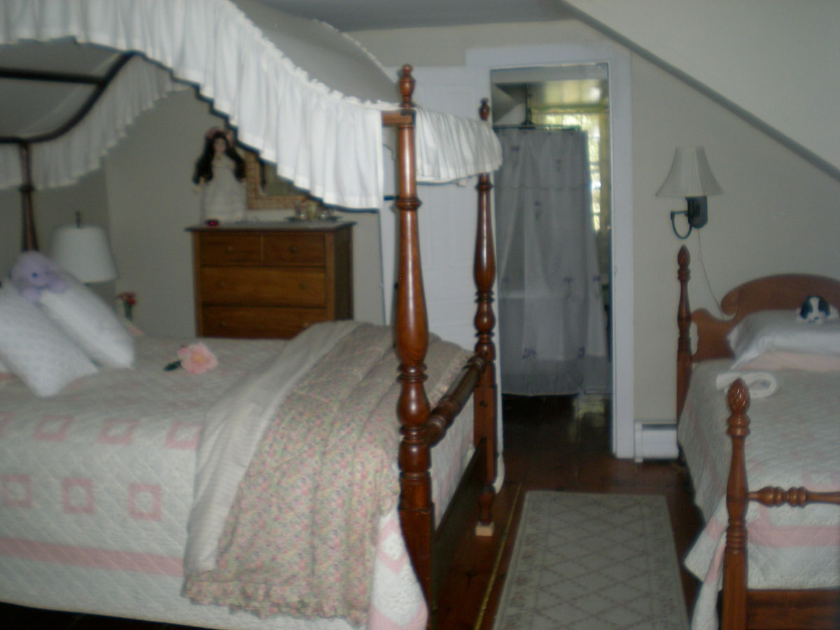 Charming, intimate room in village
