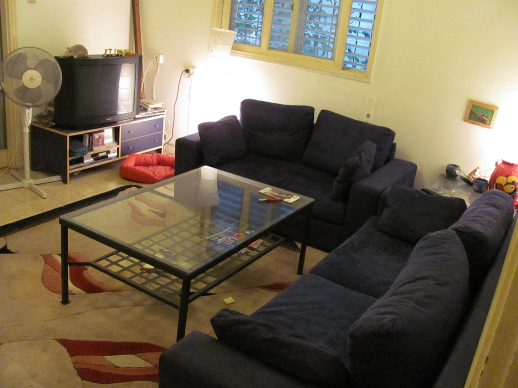 """Living Room when renting as """"Apartment"""" Bedroom when renting as """"Room"""""""