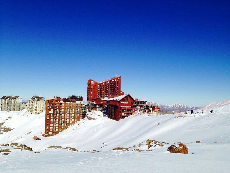 Depto Valle Nevado  ♡NIEVE♡