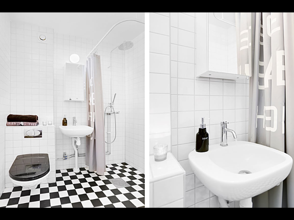 Lovely flat for two in Södermalm!