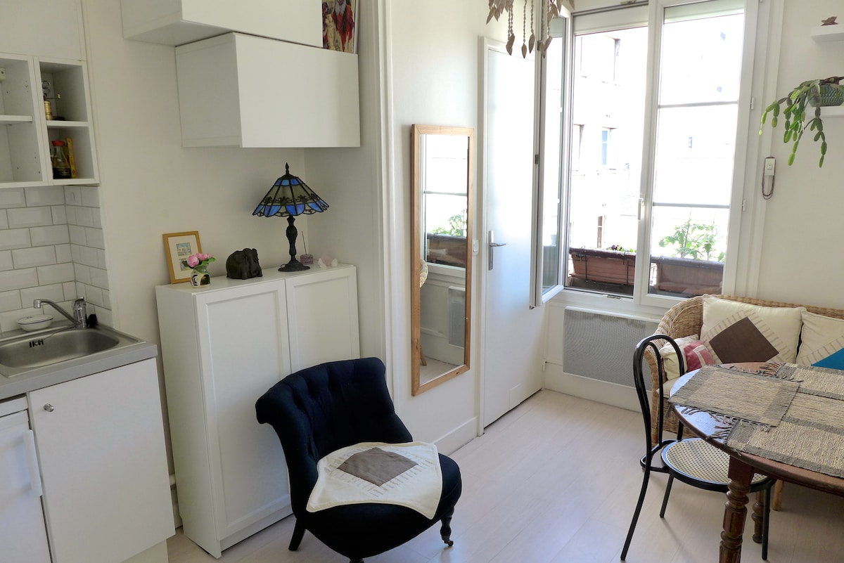 Cosy flat near the Canal St Martin