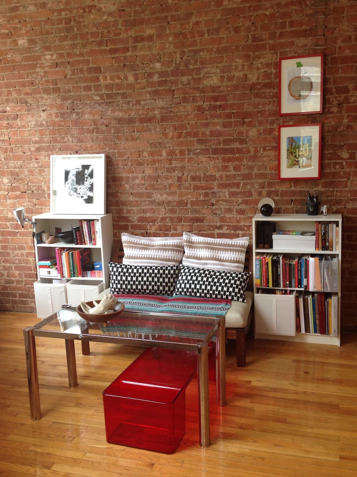 Beautiful Bowery St. Artist Loft!