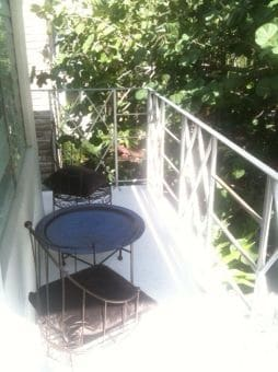 Chic balcony, middle of South beach