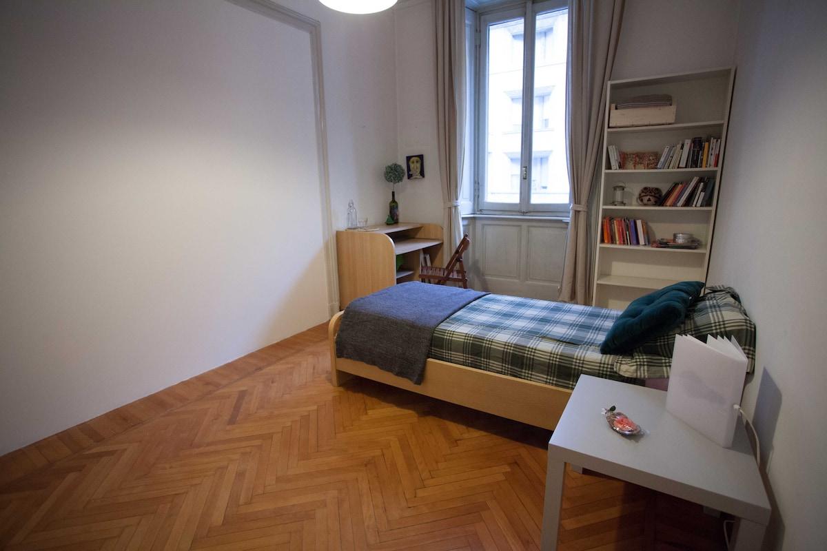 Accogliente stanza in Città Studi