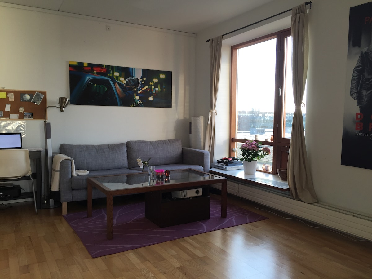 1 min from the Metro.Cozy apartment