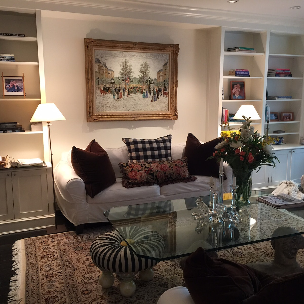 Upper East Side Townhouse Apartment