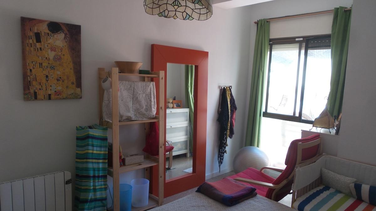 Acogedora habitación COPA DEL REY