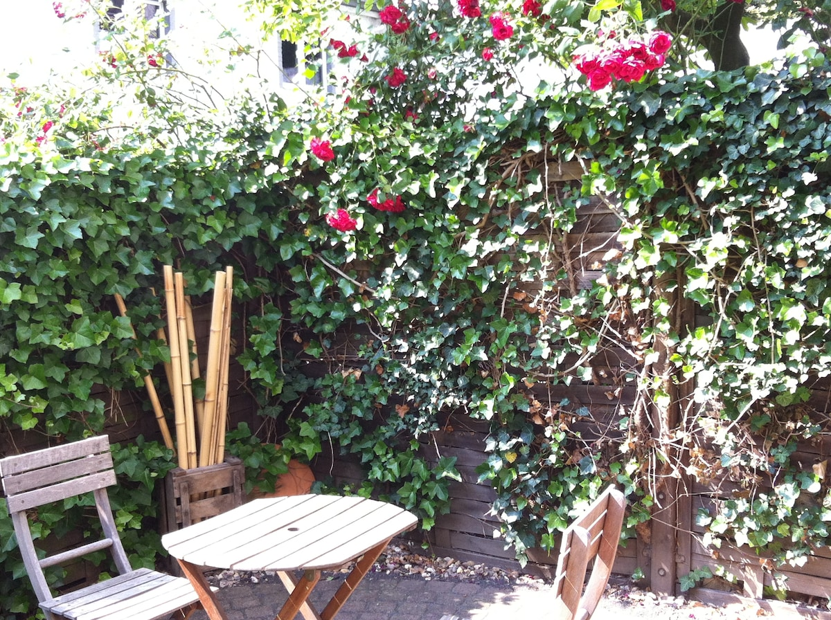 Cooles Apartment+Internet+Garten!
