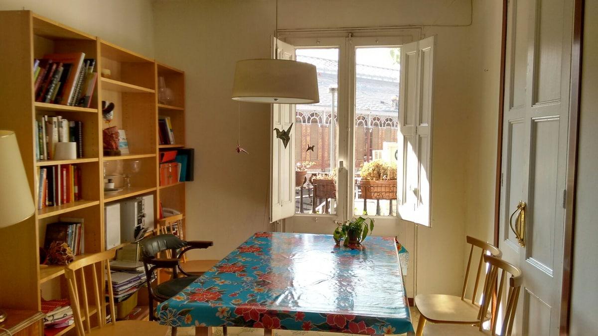 nice double room Eixample