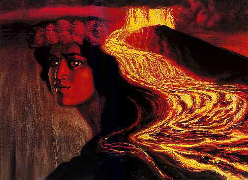 Come Commune with Pele, the Hawaiian Goddess of the Volcano ~~~
