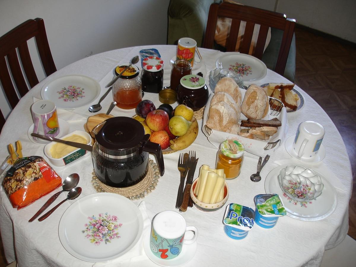 Do you like something special for your breakfast? - Algo especial ao pequeno almoço?