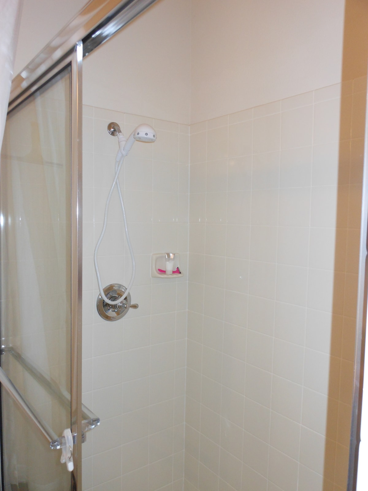 Shower for downstairs bedroom