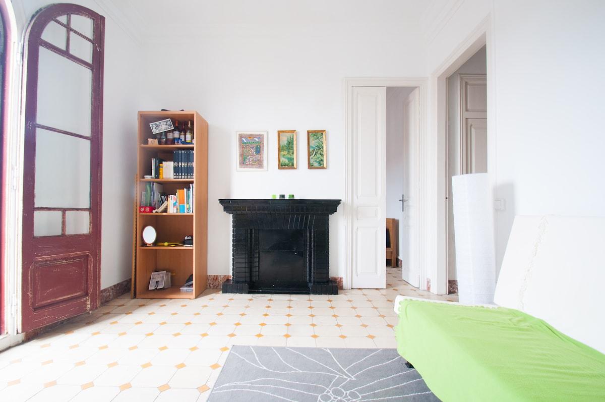 Cozy private room BCN city center