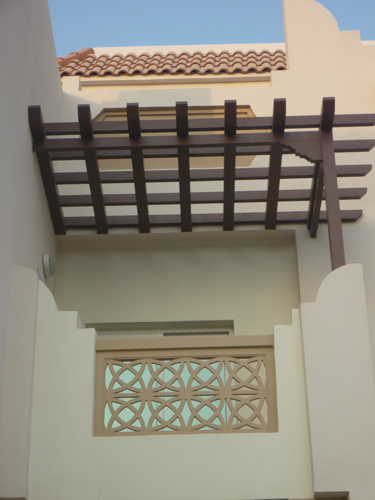 Part of the arabic style villa (5 BR)