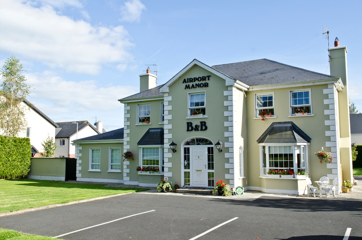 At Shannon Airport Doub+Twin rooms