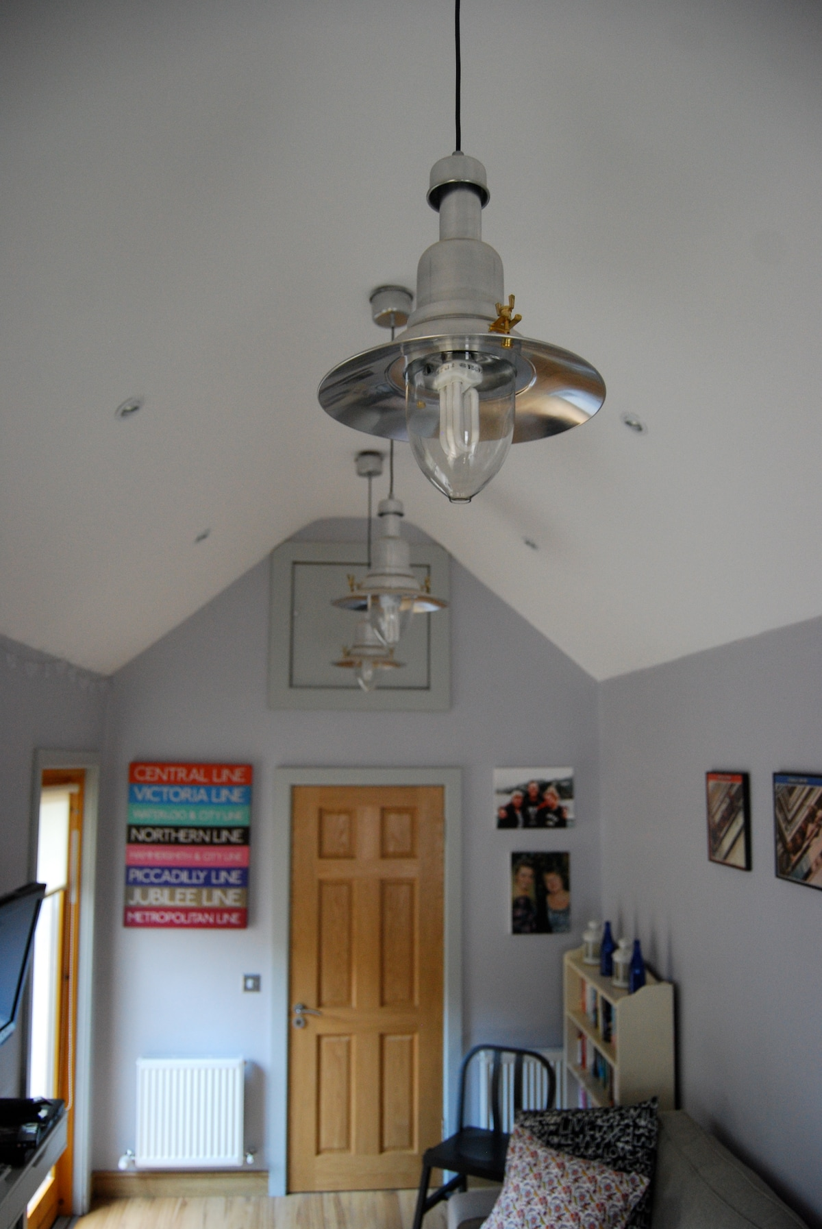 Newly converted with high well designed ceiling