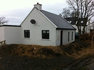 Traditional cottage rural donegal