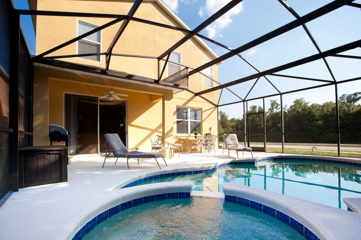You deserve to vacation in this luxury pool villa minutes from Disney, theme parks and golf.