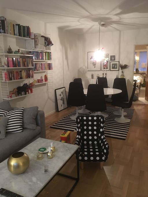 Stylish home in central Malmö