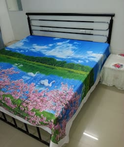 Super value Cozy Bedroom,Bath,Balcony -Navi Mumbai - Navi Mumbai - Apartament