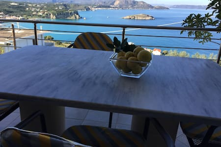 Spacious apt great sea view 10%OFF EARLY BOOKING - Plaka - Appartement