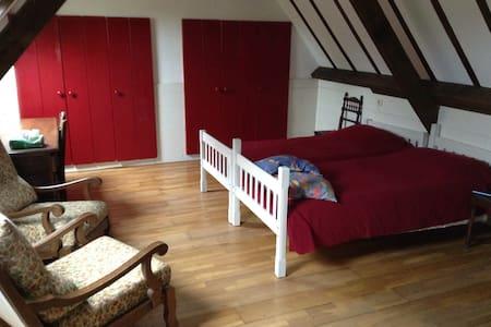 Grote slaap/zitkamer - Château-Chervix - Bed & Breakfast