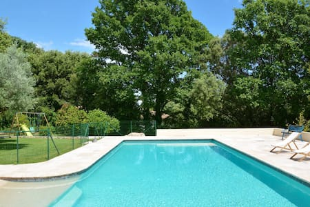 Provencal villa with pool and large garden - Assas - Villa