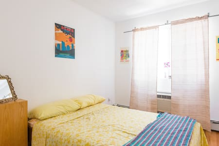 Sunny Suite in Bed Stuy with AC! - Brooklyn - Apartment